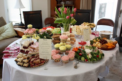 5f2e6d7dfc19 The food spread was incredible with a menu that was simple yet classic.  There were tea sandwiches
