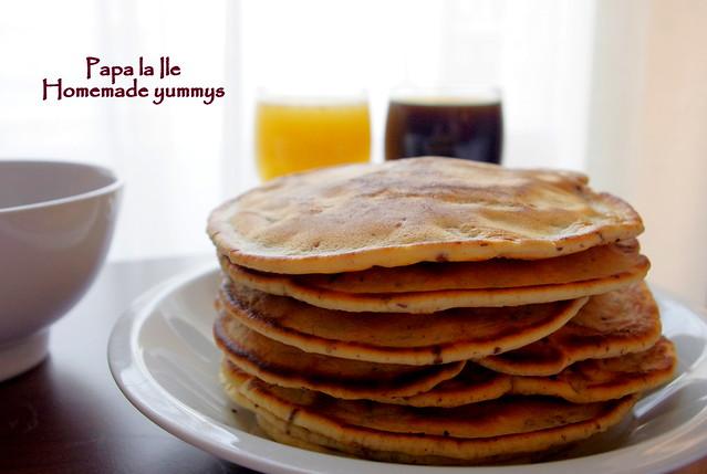 Pancakes cu ciocolata si fructe (6)