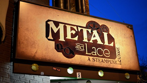 Metal and Lace, a Steampunk Lounge by Geoff Livingston