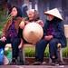 Hanoi . Three hats by Marco Sarli