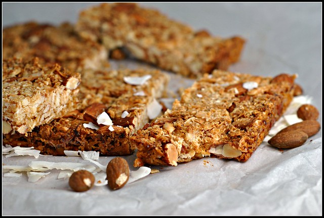 Coconut-Almond Bars 1
