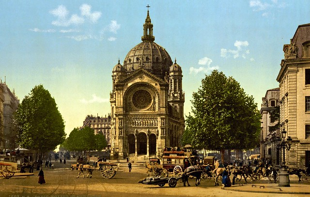 Eglise Saint-Augustin, Paris (c.1890)