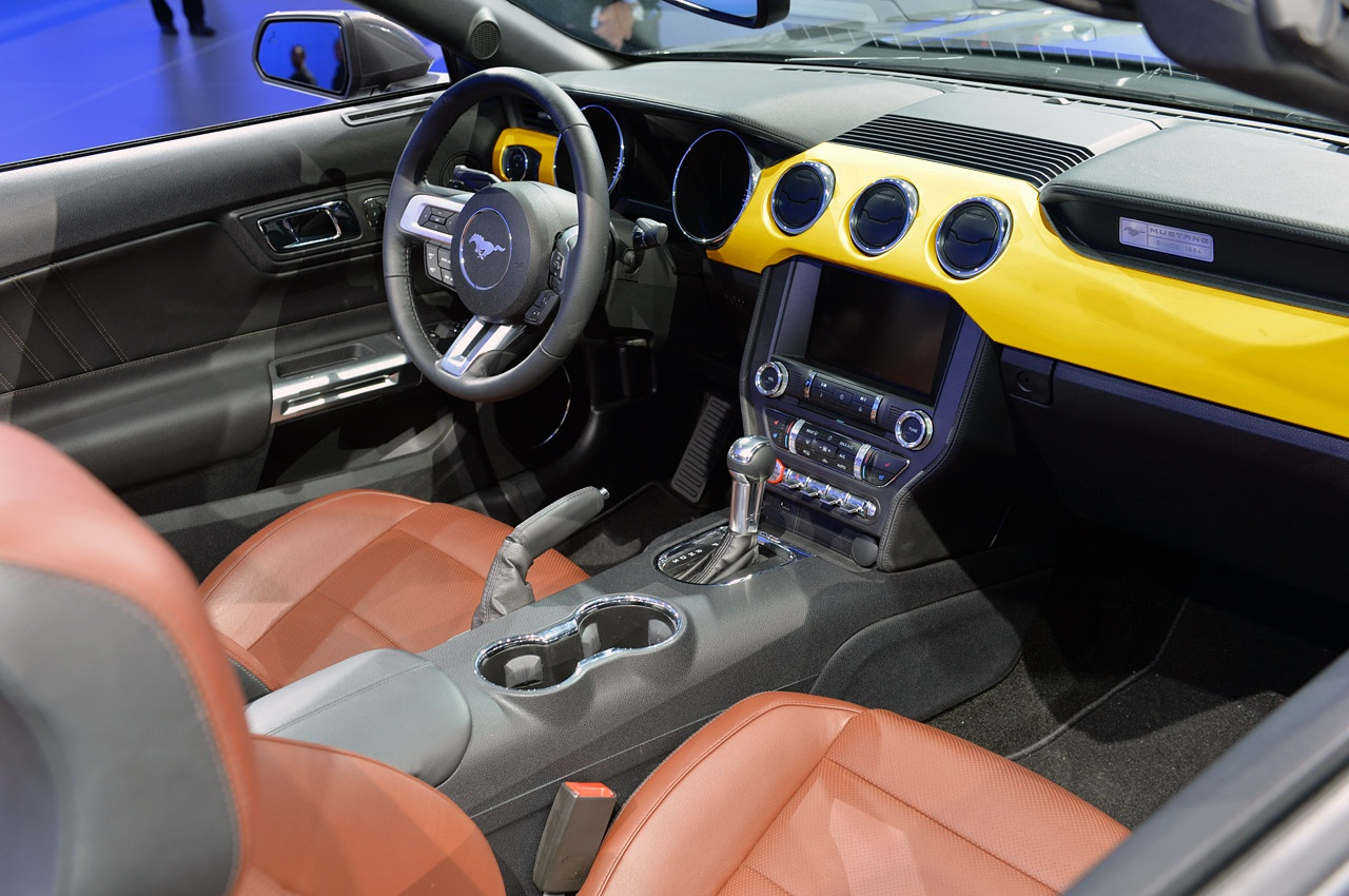 2015 Mustang Interior Pictures Page 3 2015 S550 Mustang Forum Gt Gt350 Gt500 Mach 1