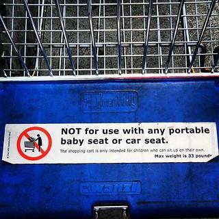 No car seats #landofno #ikea #usa