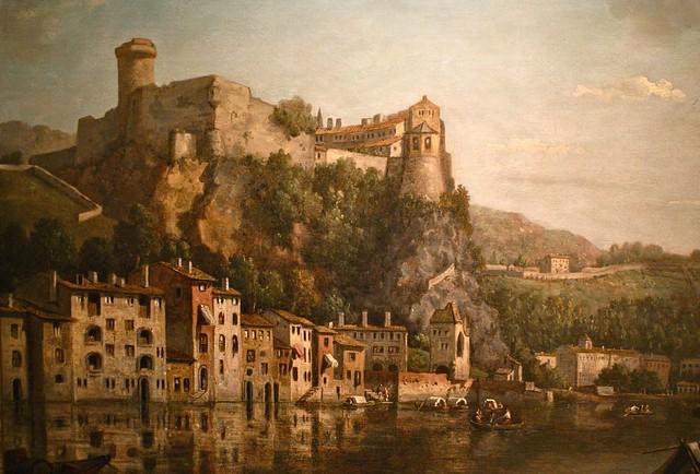 Rive de Saône quai Pierre Scize, musée des Beaux Arts de Lyon