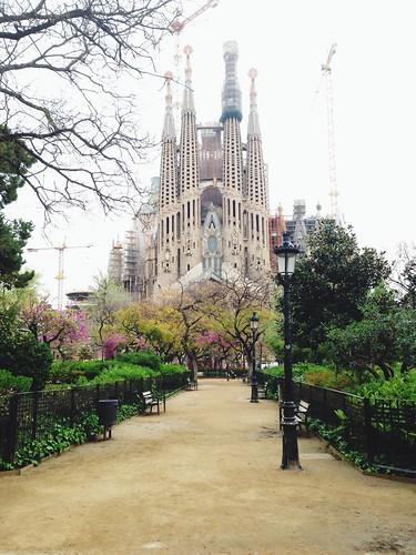 Sagrada Familia mit Park