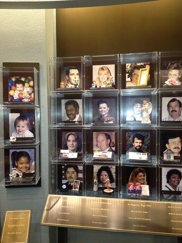 <p>The memorial gallery</p>