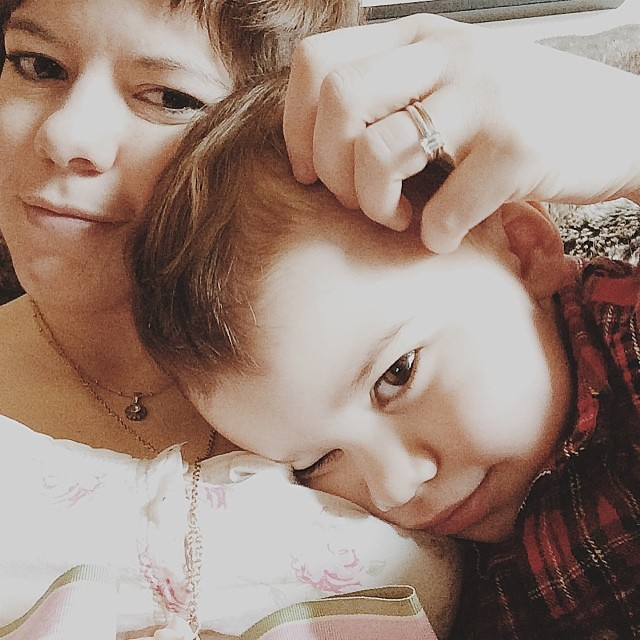 We're eyeing you. #instaluther #postnap #snuggles #motherhood