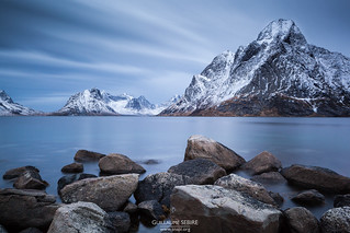 Olstind mountain, Lofoten