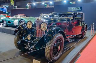 1931 Bentley 8 Litre Freestone & Webb Foursome Coupé