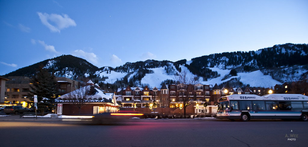 Night time at Aspen