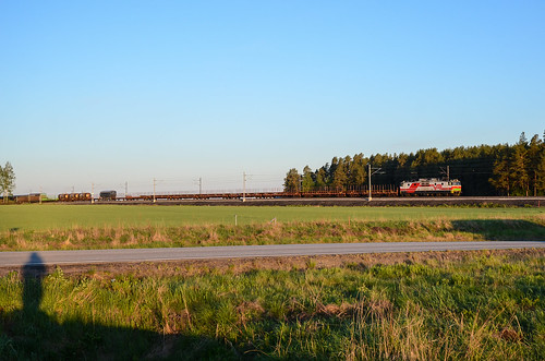 summer train finland freight vr sr1 seinäjokikokkola t3079
