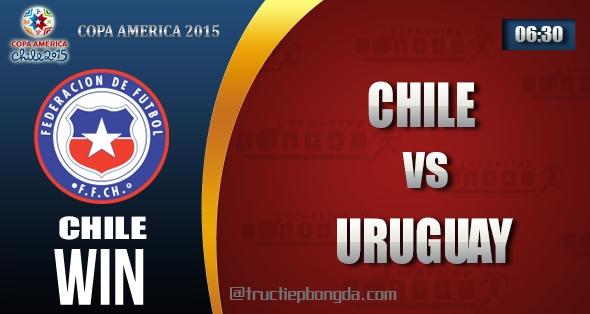 Chile, Uruguay, Thông tin lực lượng, Thống kê, Dự đoán, Đối đầu, Phong độ, Đội hình dự kiến, Tỉ lệ cá cược, Dự đoán tỉ số, Nhận định trận đấu, Copa America, Copa America 2015, Tứ kết Copa America 2015, Vô địch Nam Mỹ, Vô địch Nam Mỹ 2015, Tứ kết Vô địch Nam Mỹ 2015