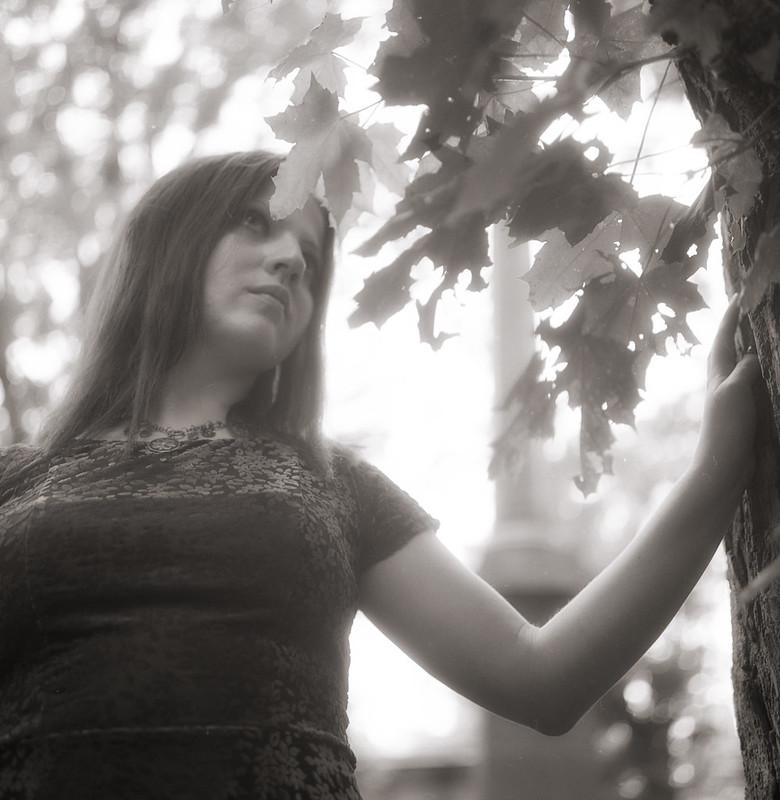 Natalia by the Tree