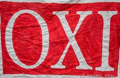 Nein! Oxi! No! zur Sparpolitik - Ja zur Demokratie
