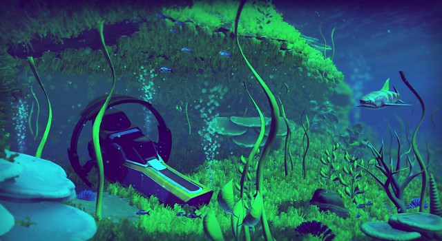 No Man's Sky, Underwater