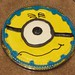 Minion cookie cake by nabeeloo