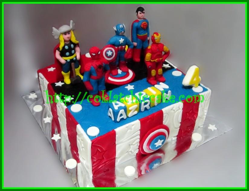 Cake Super hero