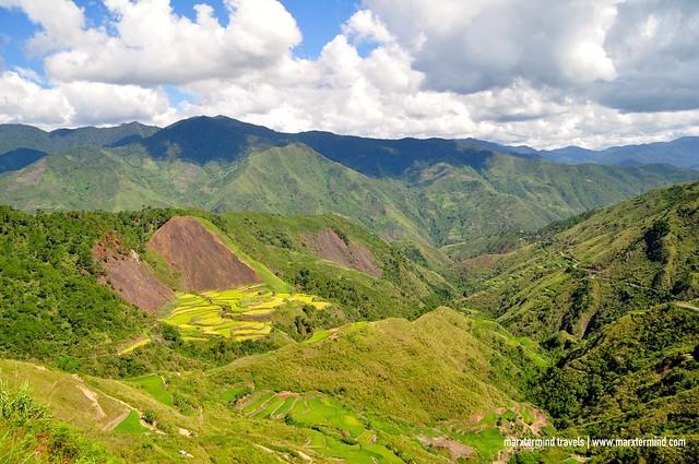 View along the way to Butbut Proper Kalinga