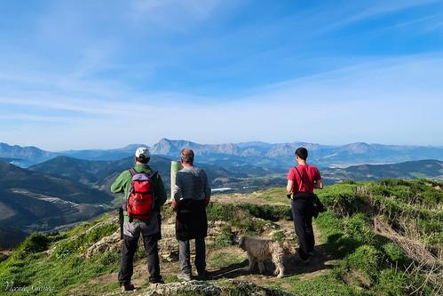 El monte Urko de 795m.