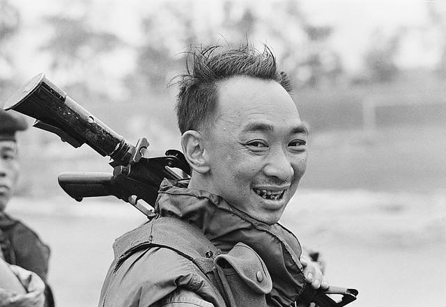 February 1968, Hue, Vietnam - General Nguyen Ngoc Loan - Thiếu tướng Nguyễn Ngọc Loan, Chỉ huy trưởng Cảnh Sát Quốc Gia Việt Nam