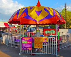 Umbrella Cars, 2017 Strawberry Festival, Plant City, FL (1 of 2)