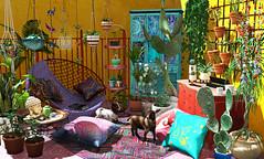Sunny Boho Garden
