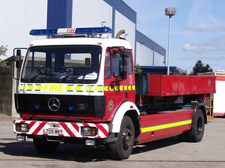 South Yorkshire Fire & Rescue Service Mercedes General Purpose Truck