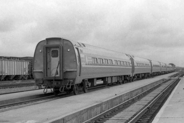 Amtrak Palmetto at Florence, SC - 1977