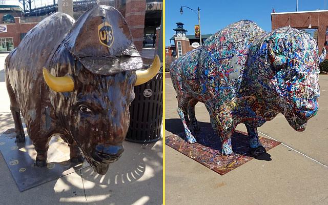 buffalo-statues-okc