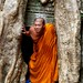 Monk'ing around at Ta Prohm