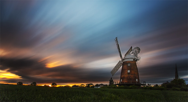 Thaxted Sunset by Dave Greenwood