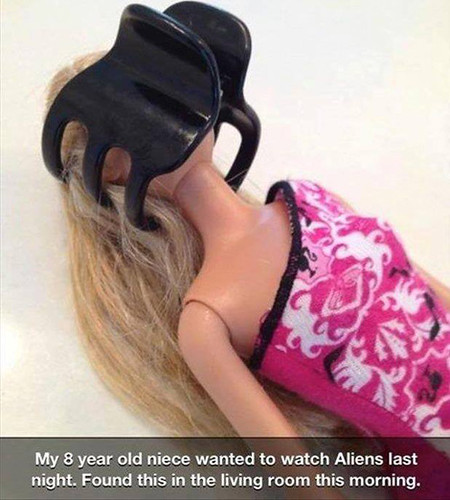 Alien Barbie