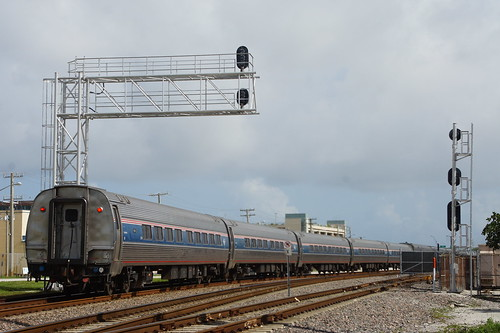 AMTRAK PO91 AT WEST PALM BEACH, FL