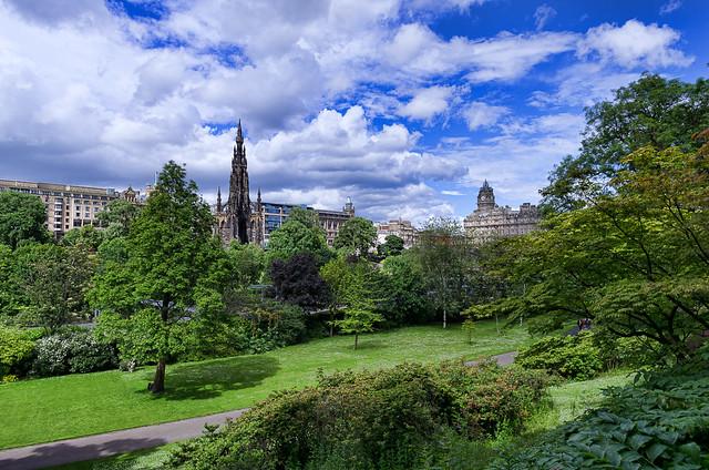 East Princes Street Gardens, Edinburgh