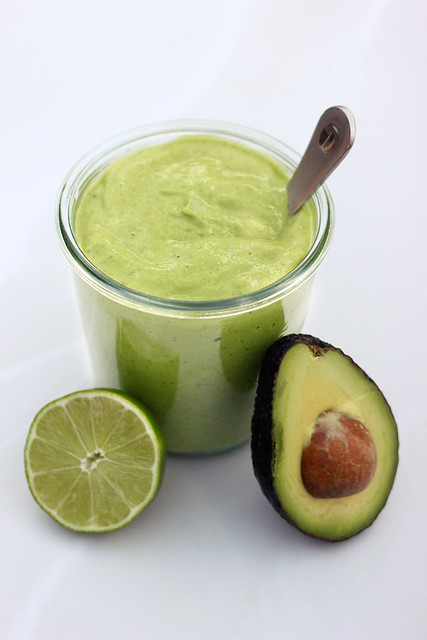 Creamy Avocado Dressing - Gluten-free + Dairy-free w/ Vegan Option ...