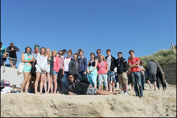 group shot on beach 2
