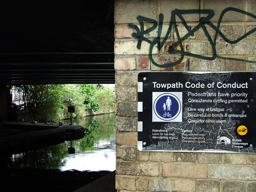 Towpath code of conduct