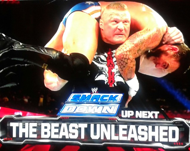 Brock Lesnar vs CM Punk | Flickr - Photo Sharing!