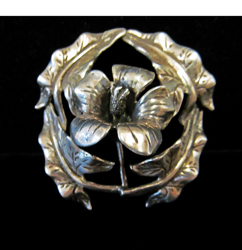 Baray and Co. Sterling Silver Pin