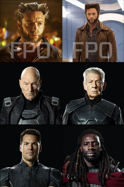 Постеры Люди Икс: Дни минувшего будущего