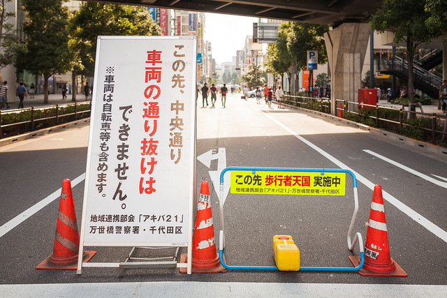 20130725_01_Akihabara Pedestrian precinct SNAP