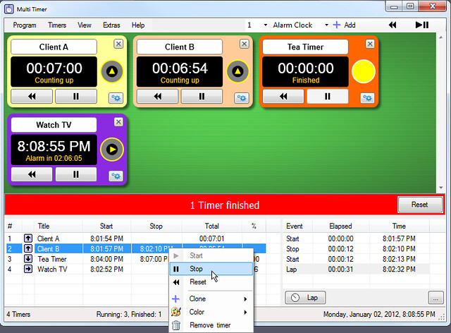 Multi Timer v3.40 注册机
