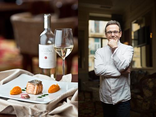 "2 Michelin-star Chef, Jean-Pierre Jacob, chef of ""Le Bateau Ivre"" restaurant"