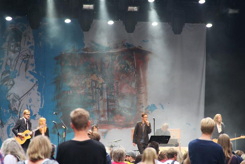 Håkan Hellström och Olle Ljungström på Sofiero!