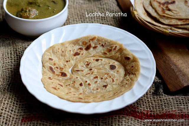 Lachha - paratha