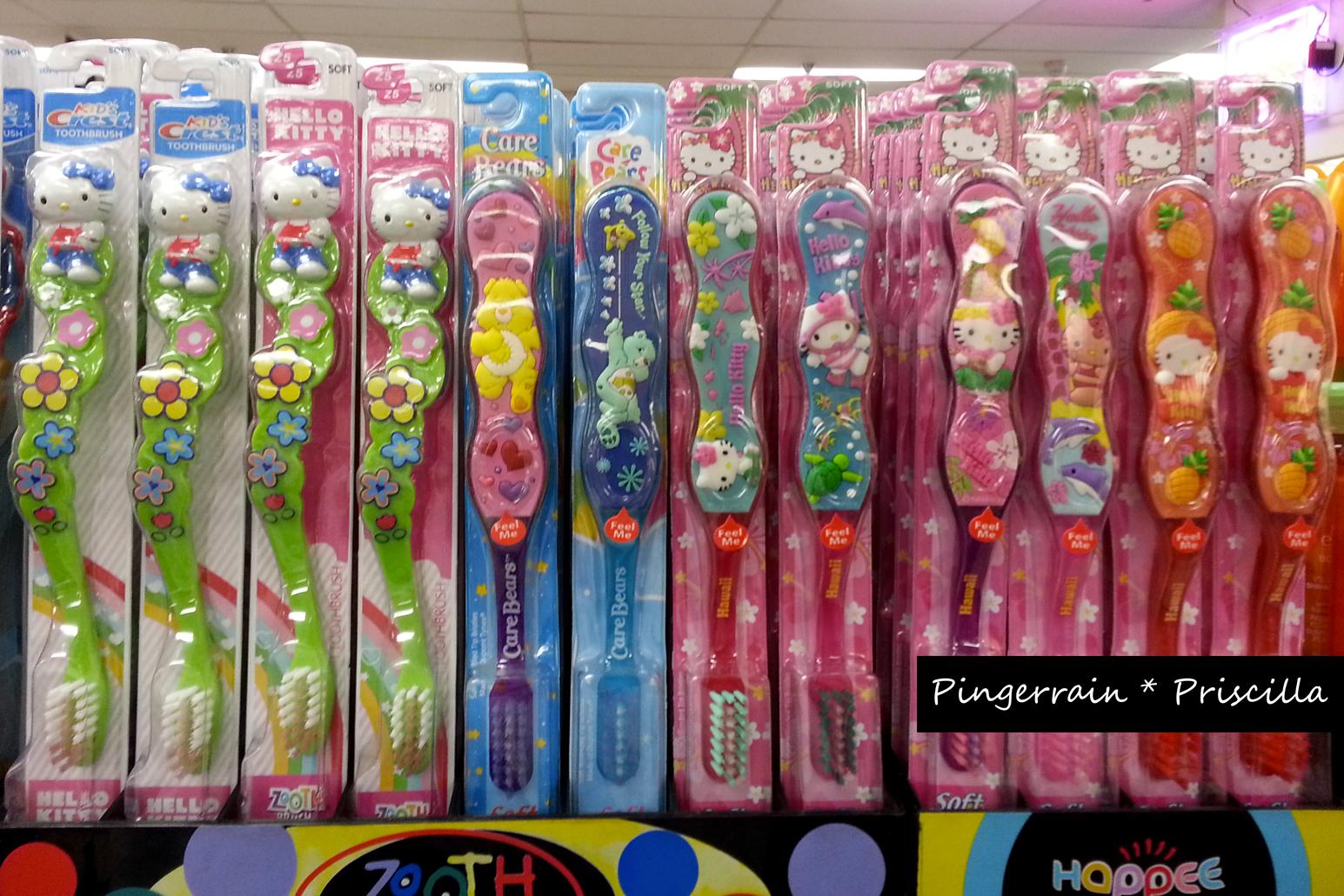 Hello Kitty Toothbrushs