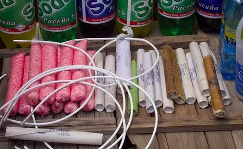 Dinamita que se compra en Potosí (Bolivia)