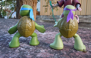 Nickelodeon  TEENAGE MUTANT NINJA TURTLES :: NINJAS in TRAINING, LEONARDO & DONATELLO vi (( 2013 ))