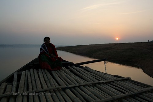 sunset set river travelphotography uttamchatterjee theworldandmycamera